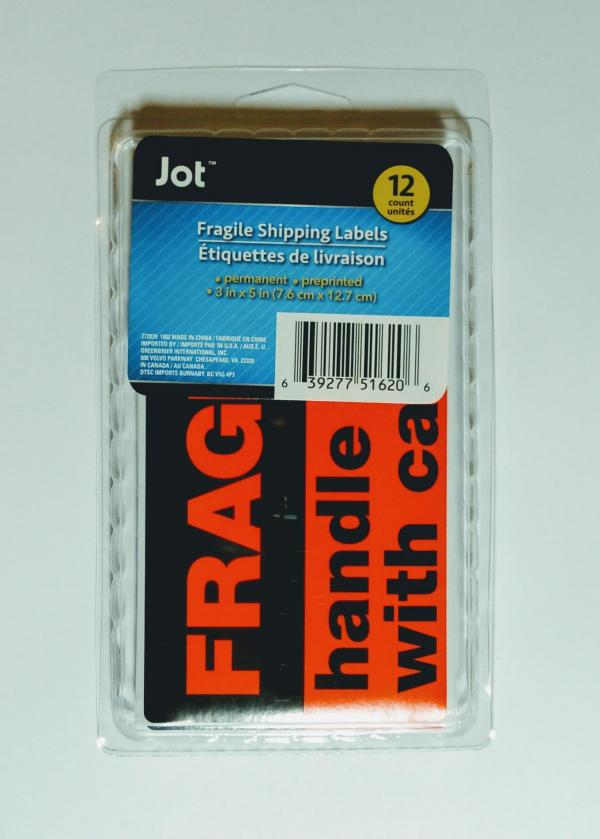 Fragile Handle With Care 12 Pack